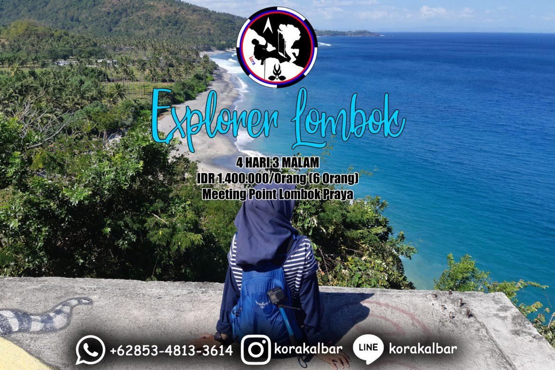 Paket Wisata Explorer Lombok