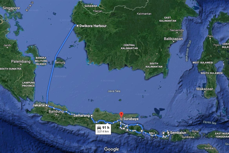 Road Trip Kalimantan – Lombok